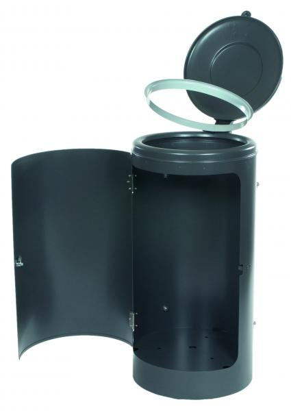 rastplatz abfallbeh lter volumen 120 l. Black Bedroom Furniture Sets. Home Design Ideas